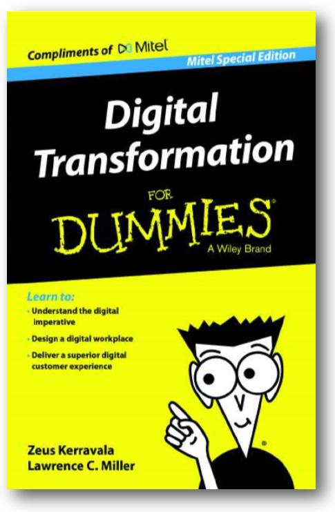 digital transformation for dummies book